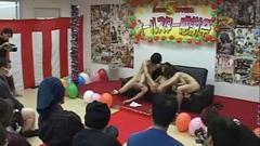 Public Group Sex
