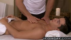 Masseur Kisses and Licks Jacob and Turns into Hot Anal Fuck