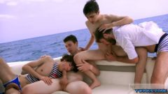 French twinks Oral Sex and Cumshot