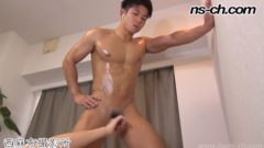 Japanese Muscle Handjob