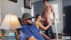MENCOM – 2 HUNKS PAUL CANON, JACK HUNTER SNEAKY FUCK