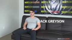 NEXTDOORCASTING – FIT BISEXUAL JACK GREYSON'S AUDITION