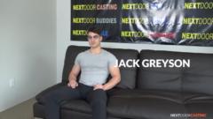 NEXTDOORCASTING – FIT BISEXUAL JACK GREYSON'S AUDITION