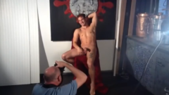 Model with large cock photoshoot